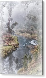 A Misty Morning In Bridgetown Acrylic Print