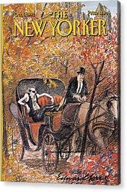New Yorker October 5th, 1992 Acrylic Print