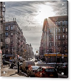 A Moment In Manhattan  Acrylic Print by Anthony Fields
