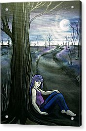 A Moment To Rest Acrylic Print by Jan Wendt