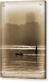 A Morning Paddle Acrylic Print