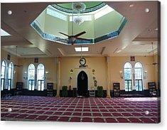 A Mosque Interior Acrylic Print