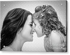 A Mother's Love Acrylic Print by Christine Nunes