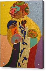 A Mother's Love Acrylic Print by Clarissa Burton