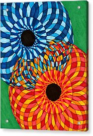 A Mother's Quilt Acrylic Print