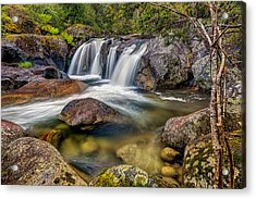A Mountain Flow Acrylic Print