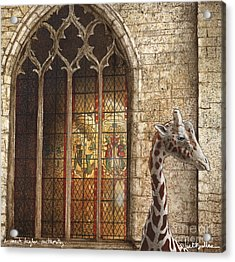A Much Higher Authority... Acrylic Print by Will Bullas