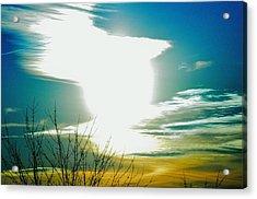A Myriad Twilight Acrylic Print by Luke Jones