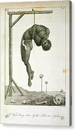 A Negro Hung Alive Acrylic Print by British Library