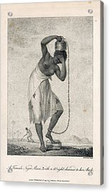 A Negro Slave Acrylic Print by British Library