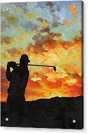 A New Dawn Acrylic Print by Catf