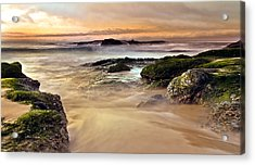 A New Day Acrylic Print by Andrew Raby