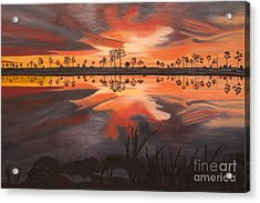 A New Day Dawning Acrylic Print