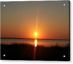 Acrylic Print featuring the photograph A New Day Is Born by Joetta Beauford