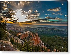 A New Day Acrylic Print by Phil Abrams