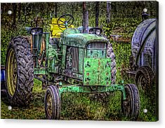 A New Seat Acrylic Print by Barry Jones