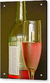 A Nice Glass Of Wine Acrylic Print by Charles Beeler