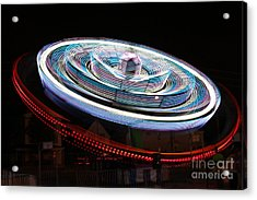 A Night At The Exhibition Acrylic Print by Tabitha Godin