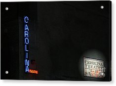 A Night At The Theatre Acrylic Print by Karol Livote