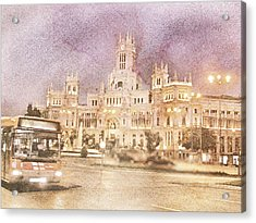 A Night In Madrid  Acrylic Print