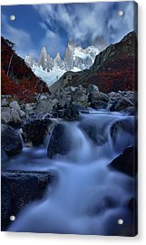 A Night In Patagonia Acrylic Print