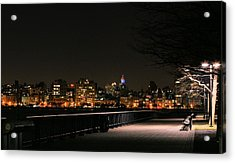 A Night In The Park Acrylic Print by JC Findley