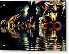 A Night On The Water Acrylic Print