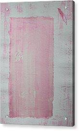 A Paler Shade Of Pink Acrylic Print