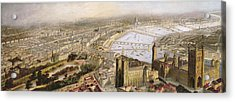 A Panoramic View Of London Acrylic Print