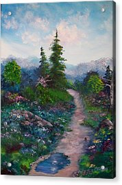 A Path Unknown Acrylic Print