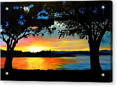 A Pause In Time Acrylic Print
