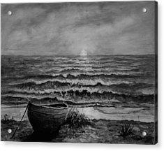 A Peaceful Evening  Acrylic Print by C Steele