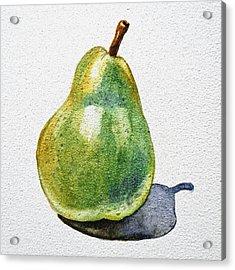 A Pear Acrylic Print