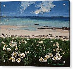 A Perfect Day At Coral Strand Connemara Ireland Acrylic Print