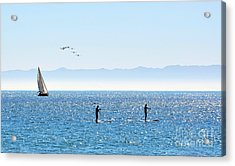 A Perfect Santa Barbara Day Acrylic Print