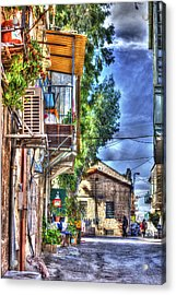 A Picturesque Street Acrylic Print