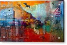 A Piece Of America Acrylic Print by Randi Grace Nilsberg