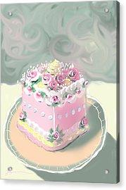 A Piece Of Cake Acrylic Print