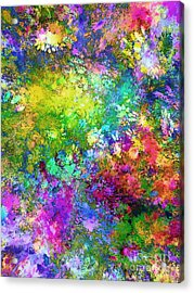 A Piece Of Summer Acrylic Print by Klara Acel