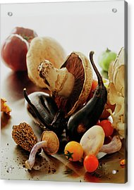 A Pile Of Vegetables Acrylic Print