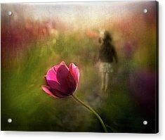 A Pink Childhood Memory Acrylic Print