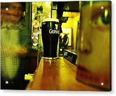A Pint Acrylic Print by Tony Reddington