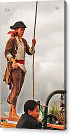 A Pirates Life Acrylic Print by Al Fritz