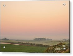 A Place Called Morning Acrylic Print by Evelina Kremsdorf