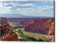 A Place Called Tseyi' Acrylic Print by Christine Till