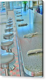 A Place To Eat Acrylic Print by Kathleen Struckle