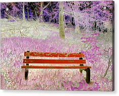 A Place To Rest Acrylic Print by The Creative Minds Art and Photography