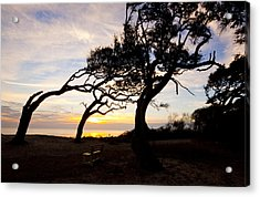A Place To Watch The Sunrise Acrylic Print by Michael Ray
