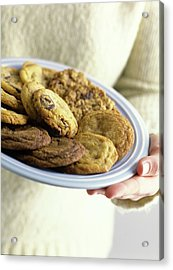 A Plate Of Cookies Acrylic Print