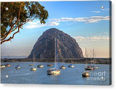 A Pleasant Day In Morro Bay Acrylic Print